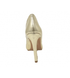 Shoes elegant pointed stiletto heel with 10 cm - gold - 6