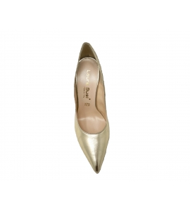 Shoes elegant pointed stiletto heel with 10 cm - gold - 3