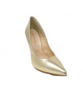 Shoes elegant pointed stiletto heel with 10 cm - gold - 2
