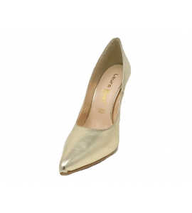 Shoes elegant pointed stiletto heel with 10 cm - gold - 4
