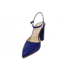 Shoe women style chanel elegant - blue - 3