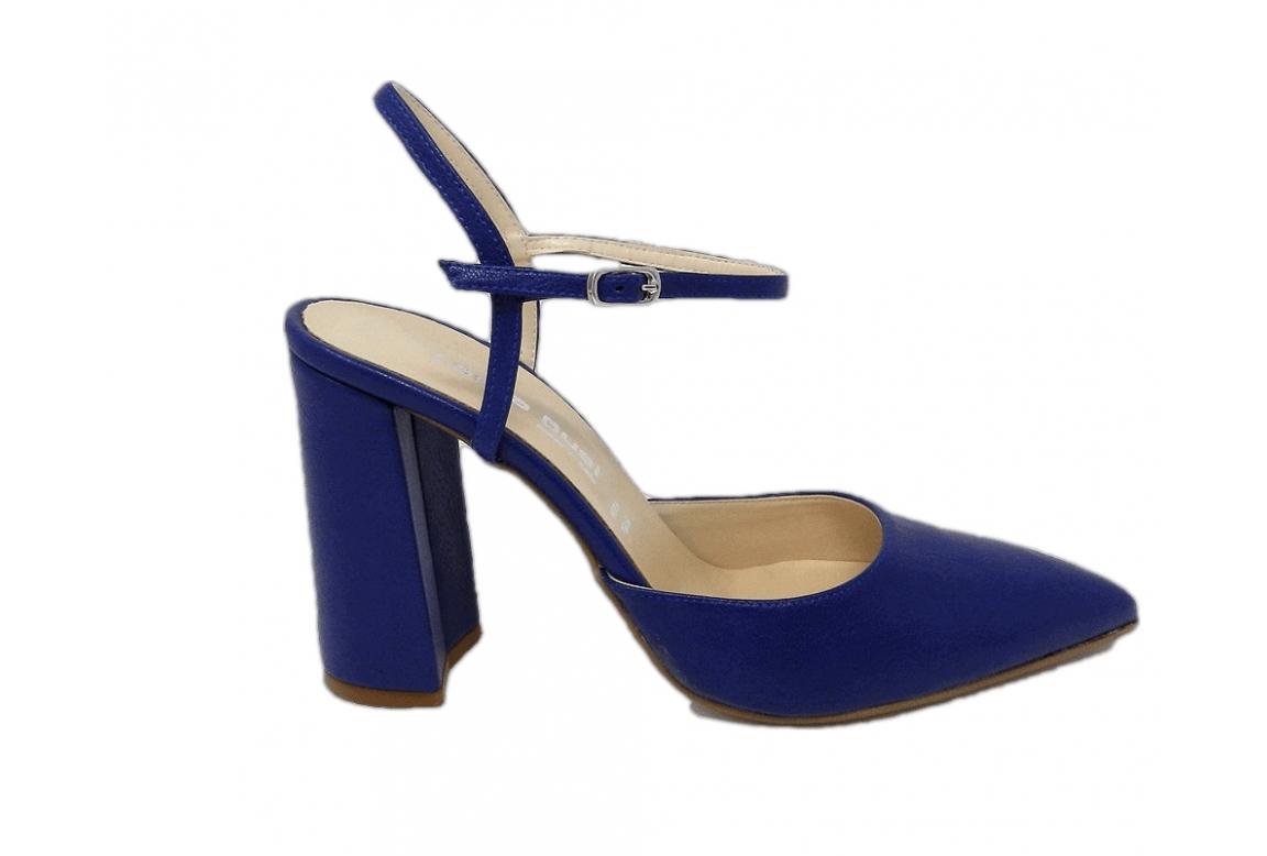 Shoe women style chanel elegant - blue - 1