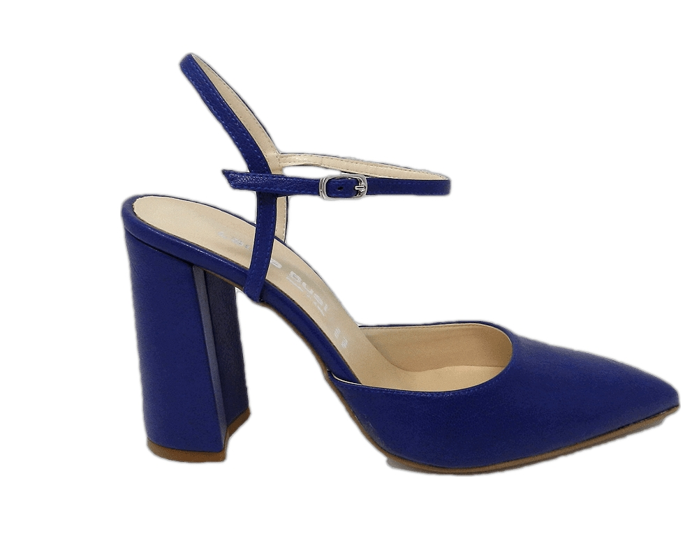 Shoe woman, chanel style by the sleek, all - blue
