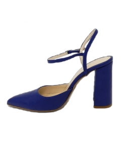 Shoe woman, chanel style by the sleek, all - blue - 4