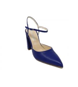 info for 39b40 beb38 Scarpa donna stile chanel dalla linea elegante - blu