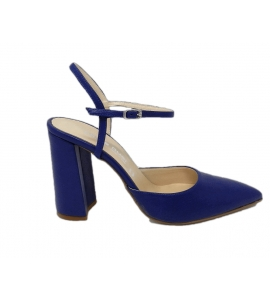 Shoe woman, chanel style by the sleek, all - blue - 6