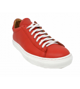 the outer toe - sport Shoe with lacing long - F7125-RS