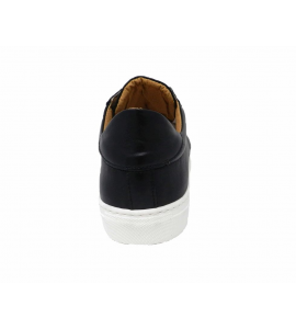 rear - sport Shoe with lacing long black color
