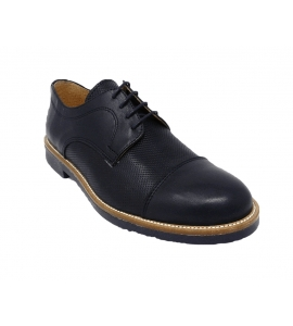 Oxford elegant leather style spunterbo - blue - 2